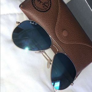 Never used Ray Ban sunglasses